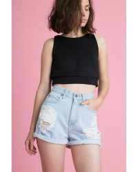 Dr. Denim Jenn shorts (Denim, 29)