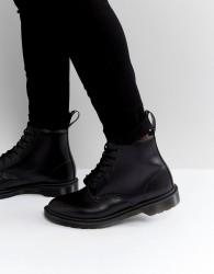 Dr Martens 101 BR 6 Eye Triple Black Boots - Black