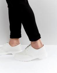 Dr Martens 1461 Mono 3 Eye Shoes - White