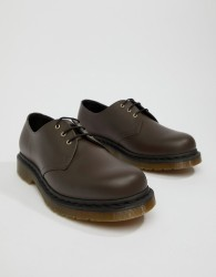 Dr Martens 1461 Shoes In Chocolate - Brown