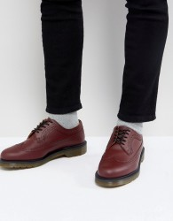 Dr Martens 3989 Brogues In Cherry Red - Red