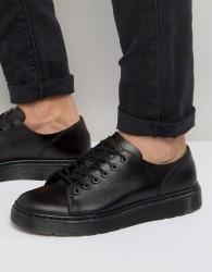 Dr Martens 6-Eye Fusion Shoes - Black