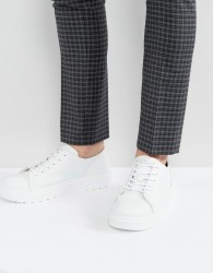 Dr Martens Dante Leather Trainers - White