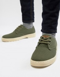 Dr Martens Delray Overdyed 3-Eye Shoes In Green - Green