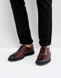 Dr Martens Fawkes Temperley Oxford Shoes In Cherry Red - Red