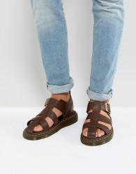 Dr Martens Galia Carpathian Sandals In Tan - Tan