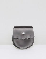 Dr Martens Leather Coin Holder - Black