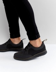 Dr Martens Lite Cavendish Knit 3 Eye Shoes - Black