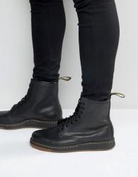 Dr Martens Lite Newton 8-Eye Boots - Black