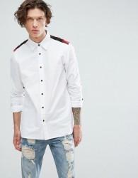 Dr Martens Panelled Shirt - White