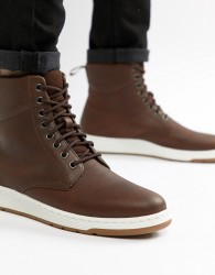 Dr Martens Rigal Boots In Tan - Tan