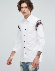 Dr Martens Shoulder Panel Shirt - White
