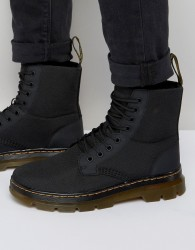 Dr Martens Tract Fold Boots - Black