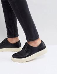 Dr Martens Walden Creeper Shoes In Black - Black