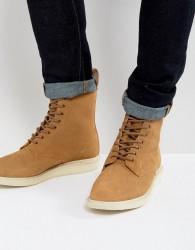 Dr Martens Whiton Hi Suede Boots - Beige