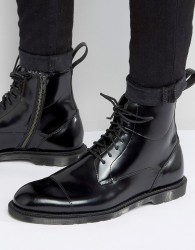 Dr Martens Winchester 7-Eye Lace & Zip Boots - Black