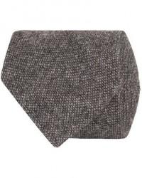 Drake's Cashmere 8 cm Tie Grey men One size Grå