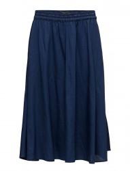 Drapy Indigo Skirt