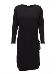 Drawstring Wrap Jersey Dress