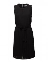 Dress W. Plissé And Tieband