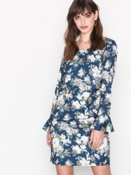 Dry Lake Bella Dress Kropsnære kjoler Blue Flower