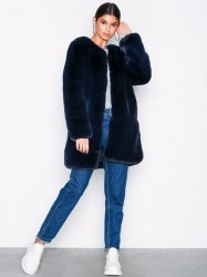 Dry Lake Cozy Coat Faux Fur Marine