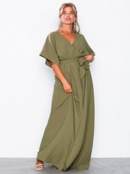 Dry Lake Florence Dress Loose fit Olive