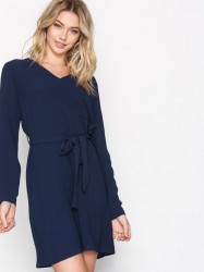 Dry Lake Goldie Dress Loose fit dresses Marine