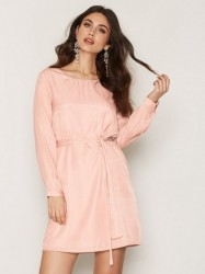 Dry Lake In Love Sleeve Dress Loose fit dresses Light Pink