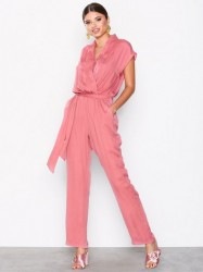 Dry Lake Mabel Playsuit Jumpsuits Pink