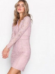 Dry Lake Miranda Dress Kropsnære kjoler Misty Rose