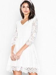 Dry Lake Serena Dress Kropsnære kjoler White