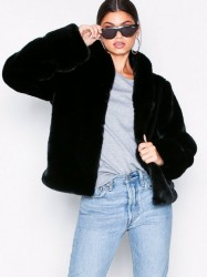 Dry Lake Smoothie jacket Faux Fur Black