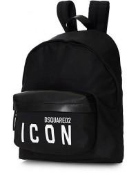 Dsquared2 Icon Backpack Black men One size Sort