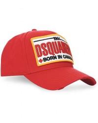 Dsquared2 Logo Cap Red men One size Rød
