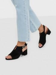 Duffy Open Toe Sandal Low Heel