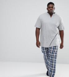 Duke King Size Pyjama Set - Grey