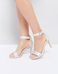 Dune London Bridal Miami Heeled Sandals - White