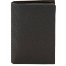 Dunhill Embossed Chassis Wallet Black