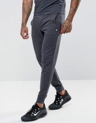 EA7 French Terry Shield Logo Sweat Joggers In Grey - Grey