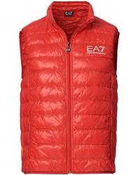EA7 Train Core Light Down Vest Racing Red men XL Rød