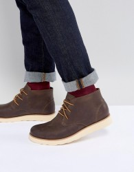 Eastland Jack Chukka Leather Boots In Brown - Brown