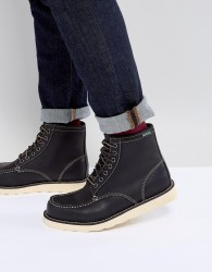 Eastland Lumber Up Leather Boots In Black - Black