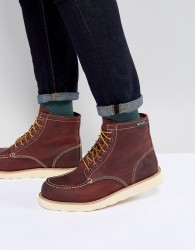 Eastland Lumber Up Leather Boots In Oxblood - Red