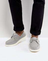 Eastland Popham Two Eye Boat Shoe in Grey - Grey