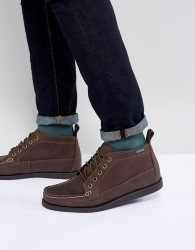 Eastland Seneca Leather Boots In Brown - Brown