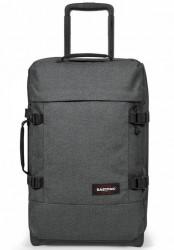 Eastpak - Tranverz Small med TSA-lås - Black Denim