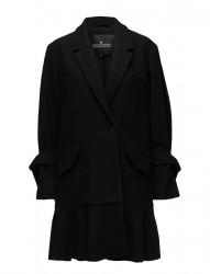Edith Ruffle Coat