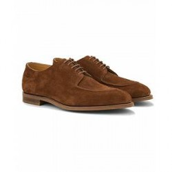 Edward Green Dover Unlined Split Toe Derby Polo Suede