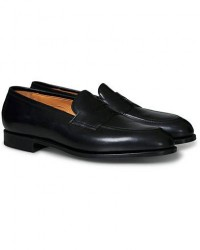 Edward Green Piccadilly Penny Loafer Black Calf men UK10 - EU44,5 Sort